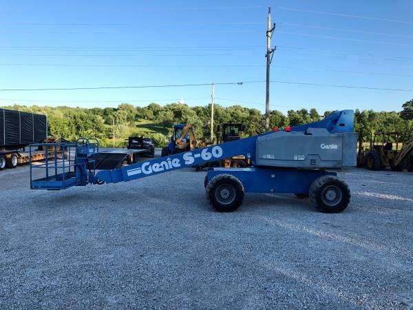 Genie S60 Rough Terrain Boom Lift Bc Murphy Enterprises Llc