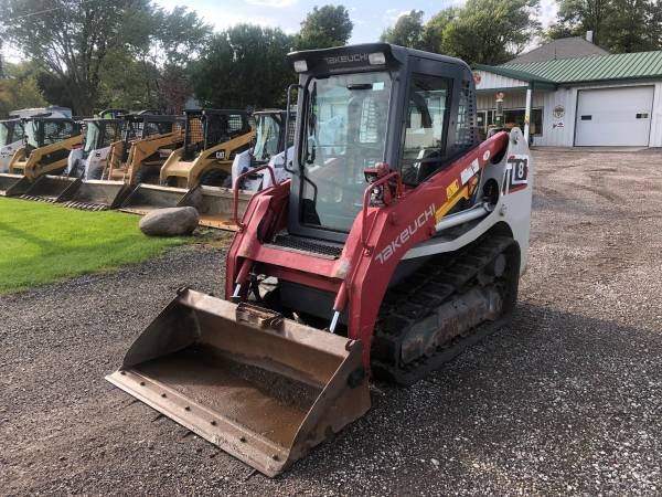 2014 Takeuchi Tl8 Track Skid Steer Loader  U2013 Bc Murphy Enterprises Llc